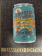HARD ROCK CAFE*SURFERS PARADISE*AUSTRALIA*3D BEER CAN*PIN*NEW ON CARD