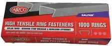 Quality Airco Galfan High Tensile Fence C/Hog Ring Fasteners Box of 1000-10,000
