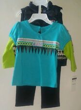 Coogi Girl's 3-Piece Outfit. Size 6/9 Months