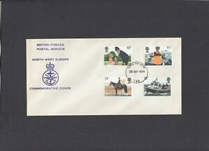 1979 Police British Forces Postal Service N.W. Europe FDC Forces P.O. 183 CDS