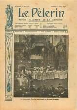 Souverain Pontif Pie X Pope Pius X Papa Pio X Evêque de France 1906 ILLUSTRATION