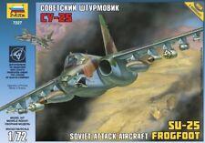 Zvezda 1/72 AEREI attacco sovietico SU-25 Frogfoot # 7227
