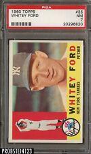 1960 Topps #35 Whitey Ford New York Yankees PSA 7 NM