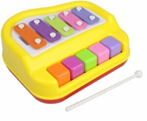 Play Right 2 in 1 Piano and Xylophone yellow