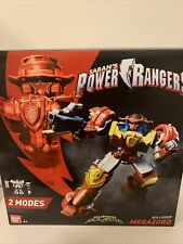 New Bandai Power Rangers Super Ninja Steel Bullrider Megazord Action Figure