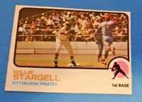 1973 Topps Set Break #370 Willie Stargell EX-MT to NM