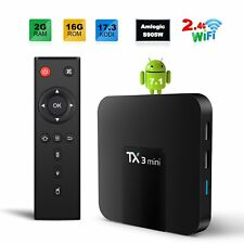 TX3 MINI-A  SMART TV BOX Android 7.1  2 GB 16 GB S905W  H265 4K HD 2.4G WIFI