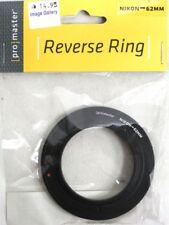PROMASTER® Reverse Ring #6700 NIKON to 62mm