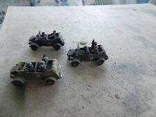 Flames of war   German 3 Kubelwagens