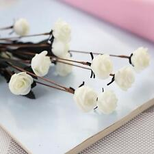 Gift Artificial Silk Fake Flowers Leaf Peony Floral Wedding Bouquet Party Decor