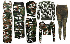 Unbranded Camouflage Polyester Dresses for Women