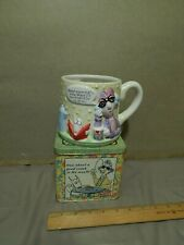 '90s Hallmark Maxine {Lot of 2} Metal Tin + Beverage Mug / Planter ~ Shoebox Ltd