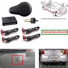 Car Parking Sensors 4 Flat Invisible Hidden Sensors Reverse Radar Sound Alarm