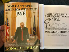 SIGNED IN PERSON ALEC BALDWIN*You Can't Spell America Without Me HCDJ 1ST/1ST
