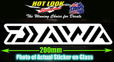 Daiwa Fishing Boat Reel Rod Sticker Vinyl Decal for dinghy Lure tackle Box
