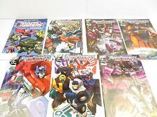 Transformers - Armada - Comics 1-6 & Animated Free Comic