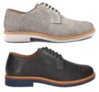 IGI & CO 7677 scarpe uomo francesine inglesine sneakers mocassini pelle camoscio