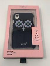 Kate Spade New York Owl Applique iPhone XR Snap Case Blue Navy