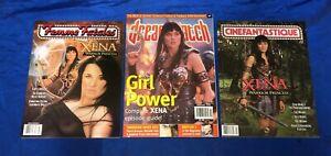 Cinefantastique Vol 31 #5 Dreamwatch #42 Femme Fatales Vol 8 #6 Xena Covers VF+