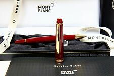 MONTBLANC 163R Burgundy ROLLERBALL  MINT in Original Boxes!! RARE!!