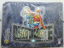 2 Boxes Deathmate Trading Cards Upper Deck Factory Sealed Lot Comics Heroes