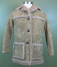 Vintage Fingerhut Fashions 70's Brown Heavy Winter Coat Size 38