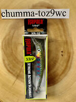 Rapala X-Rap Suspending Jerkbait, Bass Fishing, Rainbow Trout, XR10RT, (NWT!)