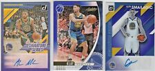 LOT of (3) Golden State Warriors 2019-20 Donruss Optic Absolute NBA AUTO RC /99