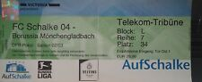 TICKET DFB Pokal 2002/03 FC Schalke 04 - Mönchengladbach