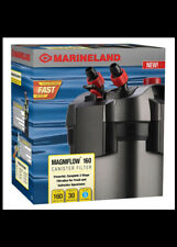 Marineland Magniflow 160 Canister Filter for aquariums up to30 gallons Open Box