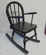 Childs Vintage Oak Rocking chair