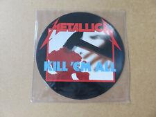 METALLICA Kill 'Em All ORIGINAL UK 1ST PICTURE DISC LP PRESSING MFN7P