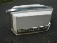 Chrysler Outboard 45 HP Hood Cover Cowl