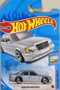 Hot Wheels Mercedes-Benz 500 E Silver 2021 New N Box Case