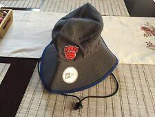 NEW Era New York Knicks Punta Cappello Secchio XL con legami grigio nuovo con etichetta Nuovo con etichette