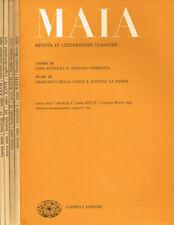 MAIA. RIVISTA DI LETTERATURE CLASSICHE n.s. anno XXVII