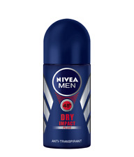 NIVEA Dry Impact Plus 48 hour antiperspirant roll on for MEN 50 ml NEW