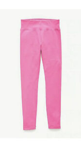 JUSTICE Pink Full Length Leggings Size 8💕💕💕new!