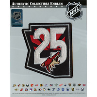 2021 Official Arizona Coyotes 25th Anniversary Jersey Patch