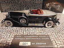 Duesenberg Model J Torpedo Convertible Coupe 1929 * 1:43 Minichamps 437150431