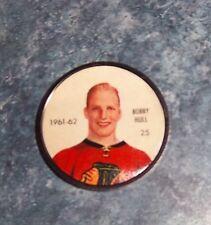 Shirriff / Salada coins hockey 1961-62 # 25 Bobby Hull Chicago  lot M