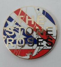 Stone Roses 'Waterfall' enamel badge.Ian Brown, Primal Scream,Tickets,Oasis,Mod