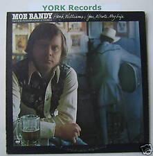 MOE BANDY - Hank Williams You Wrote My Life - Ex Con LP