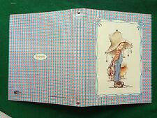 KIM TANIA Copertina ad anelli vintage x fogli quaderno scuola , Cartorama Italy