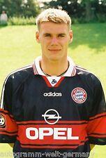 Alexander Zickler Bayern München 1997-98 seltenes Foto