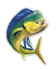 "Sticker Mahi 5"" x 6"" decal for Rear Window Bumper Tank Salty Bones Game Fish"