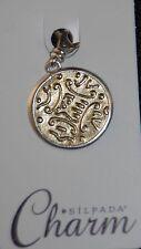 SILPADA Sterling Silver Charm Collection - Bronze Age - C2591 - NIB!