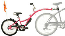 NEW WeeRide Co-Pilot Child Bike Bicycle Trailer Seat Copilot Tandem Safety PINK