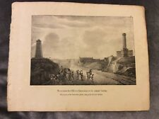 Monuments of the Hanovrian Officers & Colonel Gordon - 1830 Book Print