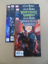 Realm Of Kings : Imperial Guard 1 - 5 . Lot Complet . Marvel 2010. VF - minus